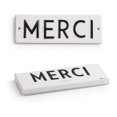 Rosanna WORD PLAY MERCI WALL ART ($16) ❤ liked on Polyvore featuring home, home decor, wall art, backgrounds, fillers, words, decor, multi, antique wall art and typography wall art