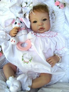 "Reborn Baby Doll Gorgeous ""Kelsie"" Shyann by Aleina Peterson 
