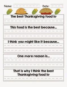 My first thanksgiving essay
