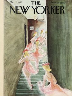 The New Yorker - Saturday, March 2, 1963 - Issue # 1985 - Vol. 39 - N° 2 - Cover by : Suzanne Suba
