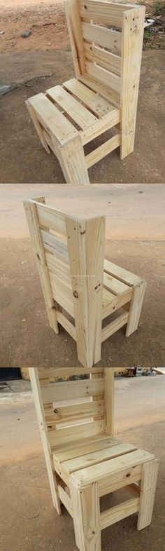 Awesome Pallet Chair