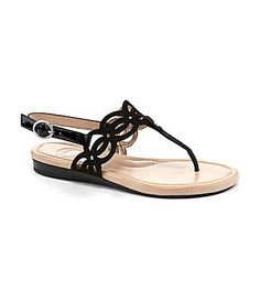 Nurture Seashell TStrap Sandals #Dillards