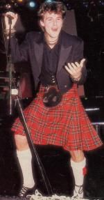 Morten Harket in a kilt!