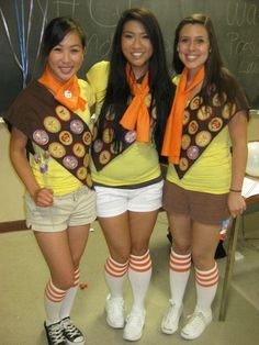 Brownie outfits - cute!