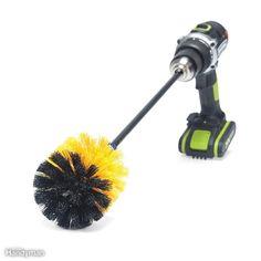 Brush with a Drill Car Hacks, Home Hacks, Car Cleaning, Cleaning Hacks, Cleaning Business, Yard Sale Signs, Broom Handle, Diy Home Repair, Car Repair