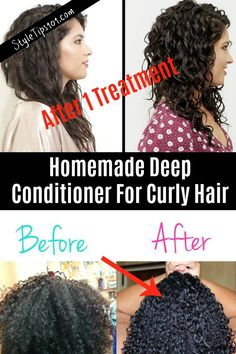 homemade deep conditioner for curly hair - homemade deep co. - homemade deep conditioner for curly hair – homemade deep conditioner for curl - Curly Hair Styles, Curly Hair With Bangs, Curly Hair Tips, Short Curly Hair, Natural Hair Styles, Products For Curly Hair, Style Curly Hair, Caring For Curly Hair, Curly Hair Quotes
