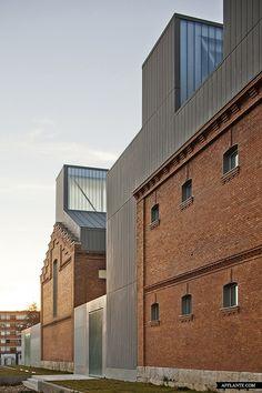 Rehabitation of Former Prison as Cultural Civic Center // Exit Architects | Afflante.com