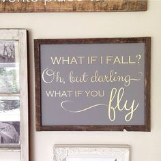 Hey, I found this really awesome Etsy listing at https://www.etsy.com/listing/238714971/what-if-i-fall-oh-but-darling-what-if