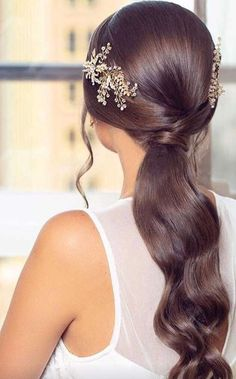 Stunning 44 Latest Daily Hairstyles Ideas For Inspiration easy hairstyles, bridal hairstyle, bridal hair, prom hairstyles, how to Daily Hairstyles, Boho Hairstyles, Wedding Hairstyles, Hairstyle Ideas, Low Pony Hairstyles, Messy Ponytail Hairstyles, Hair Ideas, Party Hairstyle, Bangs Hairstyle