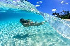 Une eau chaude et cristalline I #VoyageDeRêve I ♡