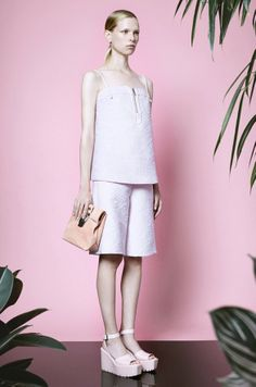 This breezy outfit is from the Opening Ceremony Resort 2015 Collection, and we WANT it!
