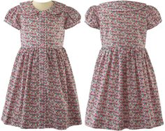 Shop the Rachel Riley Ditsy Floral Button-Front Dress as seen on Princess Charlotte Princess Charlotte Dresses, Beach T Shirts, Button Front Dress, Ditsy Floral, Little Girl Fashion, Dot Dress, Little Princess, Outfit Sets, Cotton Dresses