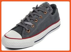 Converse - Chuck Taylor All Star Denim Low Shoes, Size: 3.5 D(M) US Mens / 5.5 B(M) US Womens, Color: Puritan Gray - Sneakers for women (*Amazon Partner-Link)