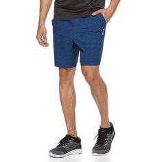 Men's FILA Sport® Tru-Dry Stretch Running Shorts, Size: Medium, Blue (Navy)