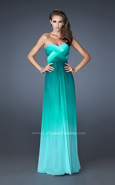 Style #18525 - Available in Jade, Size 8  www.anniesroombridal.com