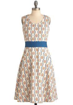 Make Waves Worldwide Dress. Perfect for summer strolls.