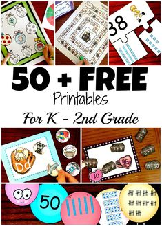 50 Awesome and Fun Math Activities for and Grade Students Preschool Learning Activities, Fun Learning, Teaching Math, Teaching Ideas, Alphabet Activities, Kindergarten Math, Preschool Ideas, Kids Math, Counting Activities
