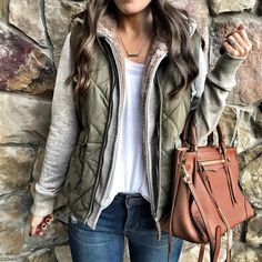 5 Favorite Vest Combo's for Fall