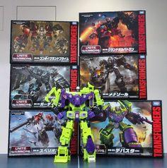 Takara Transformers Unite Warrior collection