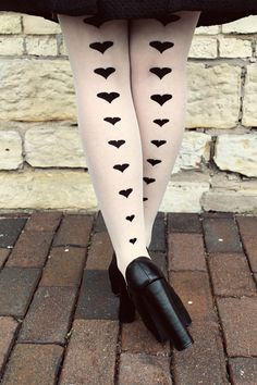 Selective Potential: All of my hearts Heart Tights, Fashion Tights, Tight Leggings, Beautiful Eyes, Hosiery, My Heart, Hearts, Stockings, Socks