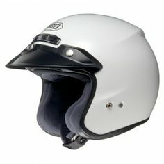 The Fantastic Shoei RJ Platinum-R Open Face Motorcycle Helmet is now in stock at GhostBikes. This jet helmet is perfect for those riders how have a scooter, moped, adventure or touring bike and is perfect for pillion passengers. Get your shoei helmet now! Shoei Motorcycle Helmets, Cruiser Motorcycle Helmet, Open Face Motorcycle Helmets, Open Face Helmets, Motorcycle Outfit, Motorcycle Riding Gear, White Motorcycle, R White, Pearl White