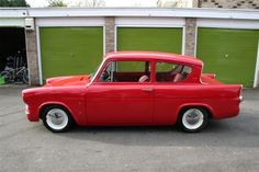 I love a nice Ford Anglia and this is a nice Ford Anglia! Ford Motor Company, Classic Trucks, Classic Cars, Ford Anglia, British Sports Cars, Cars Uk, Ford Escort, Motorcycle Design, Car Ford