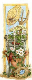 Imagens para Decoupage: Jardins