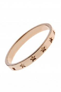 rose gold plated #star #ring I designed by delphes paris I NEWONE-SHOP.COM
