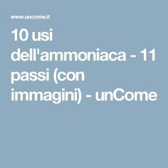 10 usi dell'ammoniaca - 11 passi (con immagini) - unCome
