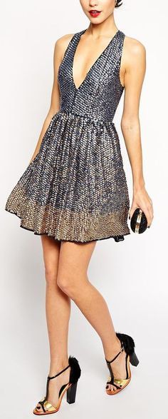 Cute for a holiday party dress!