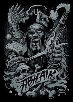 Stunning Horror Art by Brandon Heart | Cruzine