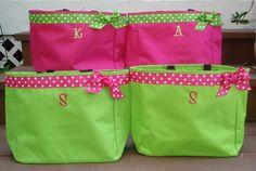 Perfect teacher bag! Monogram Custom Tote Bag