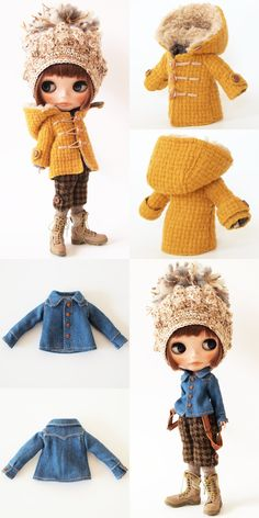 ** Blythe outfit ** Lucalily 276** : mahounote.