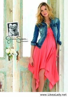 Maternity clothes - Jessica Simpson . . . Finally, maternity clothes that don't look dowdy.