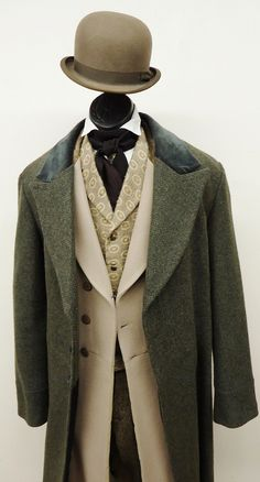 TC choice = 1860's – 1870's – P.A Suit w/ Overcoat