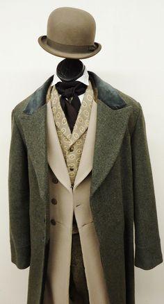 TC choice = 1860's – 1870's – P.A Suit w/ Overcoat