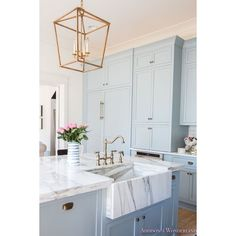 Spring in Full Swing Home Tour via Polyvore featuring home и kitchen & dining