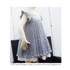 Hey, I found this really awesome Etsy listing at https://www.etsy.com/listing/101624446/grey-granny-square-crochet-dress-pattern