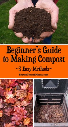 You don't have to buy #compost for your #garden. With a little bit of space and a little bit of time, you can make compost yourself, with almost no effort at all. Here's how. #gardening #gardeningtips