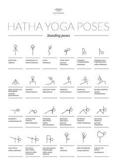 Yoga Positionen, Hatha Yoga Poses, Ashtanga Vinyasa Yoga, Yoga Asanas Names, Yin Yoga, Yoga Poses Chart, Yoga Asanas List, Yoga Poses With Names, Pranayama