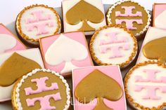 LilaLoa: Designer Cookies -- Kate Spade and Tori Burch