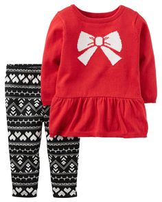 Baby Girl 2-Piece Little Sweater Set | Carters.com