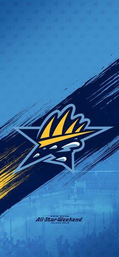 2019 All-Star weekend team Fins wallpaper Toledo Walleye, Cavaliers Logo, Cleveland, Team Logo, All Star, Hockey, Stars, Wallpaper, Field Hockey