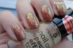 Essence Nagellak Swatch Nail Art Special Effect Topper 08 Night In Vegas Nail polish