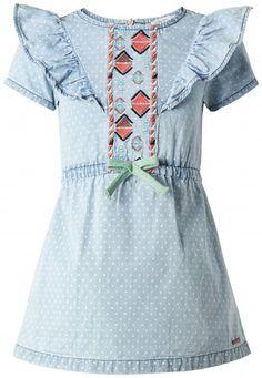 b071759e16ad Detské šaty s krátkym rukávom NOPPIES - svetlo modrý denim. BFashion  Slovakia · Kids Fashion ...