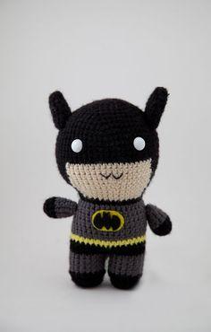 Amigurumi Batman!