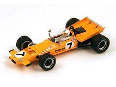 McLaren M7A Number 7 (Denny Hulme - Dutch GP 1969) in Orange (1:43 scale by Spark S3119)