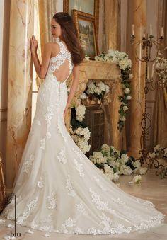 Blu Bridal by Mori Lee 5469 Blu Bridal Collection by Mori Lee