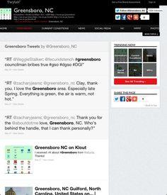Trending Now ▸ greensboro by @greensboro_nc on @twitter