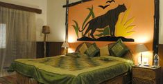 Nature Heritage Resort Bandhavgarh National Park, 3 Star Hotel in Bandhavgarh, Luxury Resort in Bandhavgarh, Book your stay at a good price. Luxury Rooms, National Parks, Bed, Nature, Furniture, Home Decor, Stream Bed, Interior Design, Nature Illustration